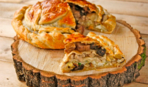 Курник с картофелем и курицей: вкусный бабушкин рецепт
