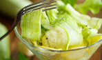 Рецепт огонь: маринованные кабачки за час