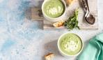 Холодный суп-пюре из авокадо
