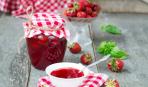 Домашние заготовки: варенье из клубники с базиликом