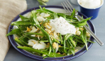 5 минут и готов: салат с черемшой, яйцами и кукурузой