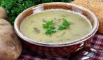 Постный картофельно-луковый суп