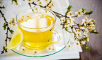 Бодрящий весенний чай
