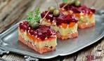 Праздничный салат к 8 марта: Лосось под шубой