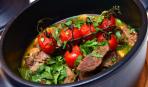 Баранина с овощами по-гречески