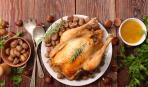 К праздничному столу: курица в абрикосовой глазури