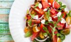 """Легкий салат с рукколой, фетой и черри """"Ритмы Италии"""""""