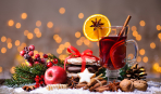 Новогодние подарки: как сделать смесь для глинтвейна