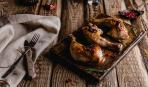 Запеченные куриные ножки с картофелем в рукаве