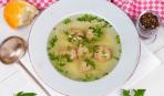 Чешский суп с кнедликами
