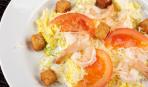 Салат на Старый Новый год с креветками