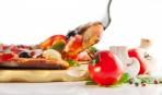 Рецепт постной пиццы с грибами и помидорами