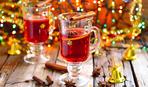 Мандариново-клюквенный рождественский пунш
