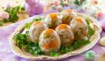 Рецепты на Новый год: заливные яйца