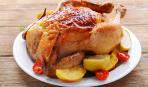 Запеченная курица в цитрусово-чесночном соусе