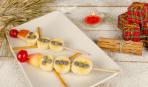 Детский Новый год: Снеговики из фруктов