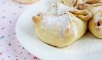 Конвертики из песочного теста с яблоками - на Яблочный Спас