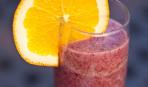 Постный завтрак: Чернично-апельсиновый смузи