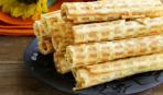 Что приготовить на десерт: вафельные трубочки со сгущенкой