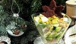 Салат из сельди и авокадо на новогодний стол