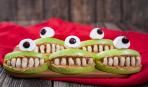 Веселые челюсти на Хэллоуин