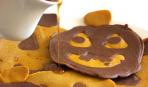 Тыквенно-шоколадные оладьи на Хеллоуин
