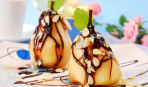 МастерШеф 5: Груша пашот с малиновым соусом от Эктора Хименес-Браво
