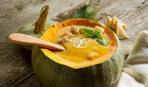 Тыквенный суп с айвой от Эктора Хименес-Браво