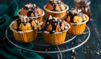 Апельсиновые кексы на Хэллоун