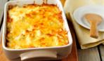 Картофельная запеканка с беконом и сыром