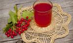 Осенний напиток из калины
