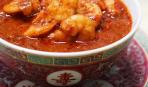 Креветки в соусе самбал от Эктора Хименес-Браво
