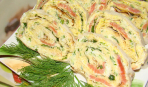 Просто, быстро, вкусно: рулет из лаваша с тунцом