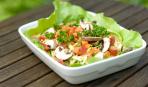 Салат из пекинской капусты и грибов