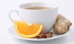 Имбирный чай с лимоном и апельсином