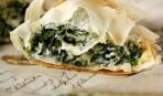 Пирог со шпинатом от Эктора Хименес-Браво