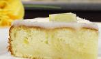 Лимонный пирог с глазурью видео рецепт