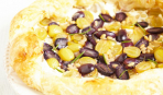 Пирог из слоеного теста с творогом и виноградом: пошаговый рецепт