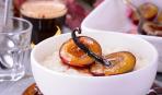 Десерт дня: рисовый пудинг со сливами