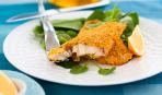 Рыбное филе в сухарях с сыром