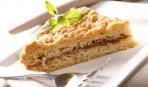 Тертый пирог с яблочным повидлом