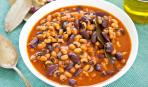 Постное меню: рагу из фасоли с томатным соусом