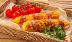 Если шашлык приелся: Кукуруза в беконе с горчично-медовой глазурью