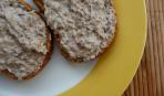 Закуска из грибов и плавленого сыра