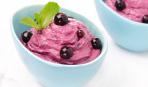 Десерт из черной смородины
