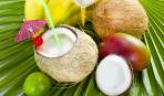 Финиково-кокосовый коктейль