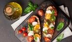 Вкусный и полезный завтрак: бутерброды Капрезе