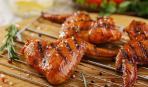 Куриные крылышки в томатном маринаде