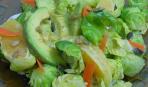 Летний салат из апельсинов и авокадо