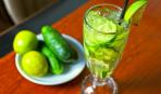 Освежающий лимонад из огурцов